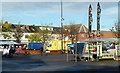 SK5267 : Market square, Shirebrook by Andrew Hill