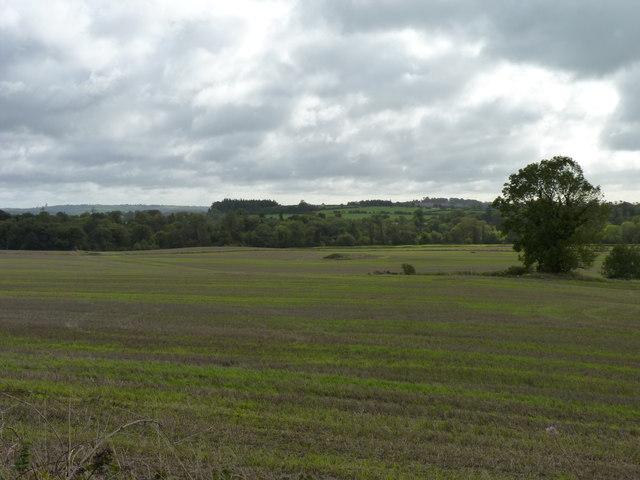 Overlooking Boyne valley