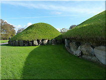 N9973 : Tombs at Knowth by James Allan