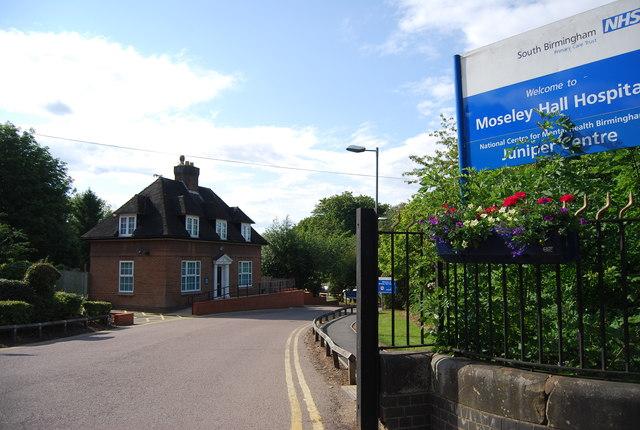 Lodge, Moseley Hall Hospital