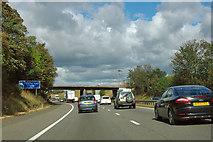 SE5402 : A1(M) - approaching Albert Bridge by Robin Webster