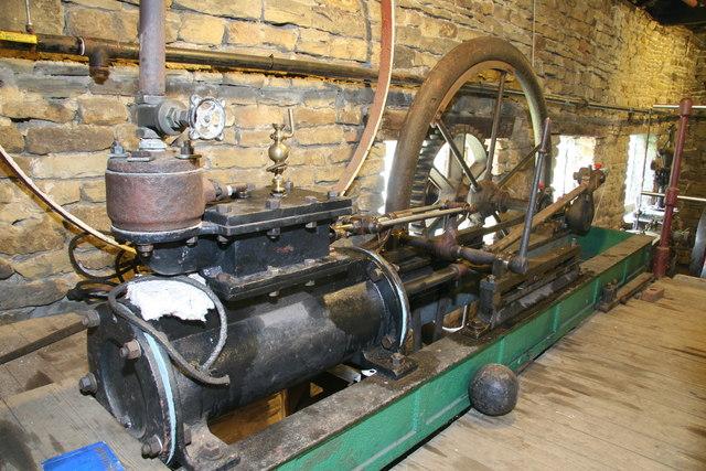 Wortley Top Forge - steam engine