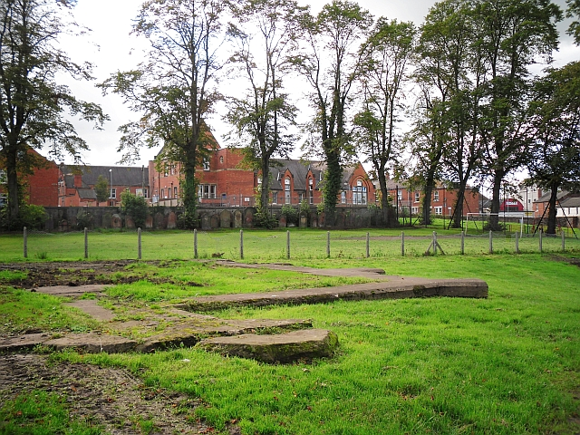 What remains of Holy Trinity Church