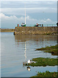 SD4578 : The tide is in at Arnside Pier by Karl and Ali