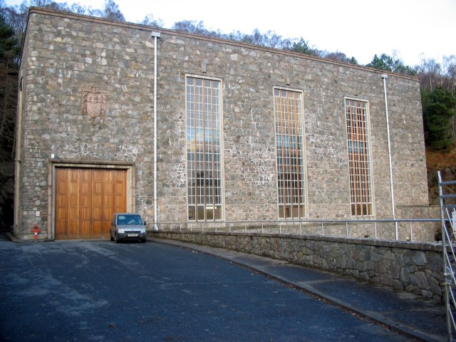 Errochty Hydro-Electric Power Station