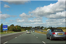SE4341 : A1(M) - maintenance sign by Robin Webster
