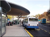 TQ7568 : Chatham Bus Interchange Facility by David Anstiss