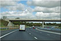 SE4047 : A1(M) - bridge to Grange Park by Robin Webster