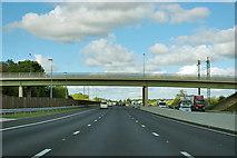 SE4148 : A1(M) - York Road bridge, Wetherby by Robin Webster