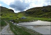 NB1340 : Approaching Bostadh Iron Age Village by Rob Farrow