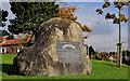 J4187 : US Rangers memorial stone, Carrickfergus by Albert Bridge