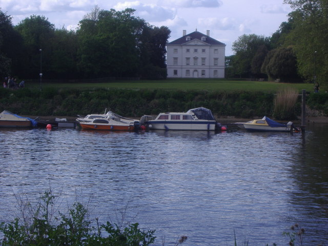 Marble Hill House from Ham