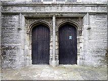 TQ8833 : Doors, St Mildred's Church by Maigheach-gheal