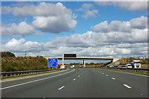 SE4150 : A1(M) - Loshpot Lane bridge by Robin Webster