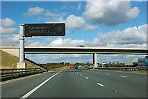 SE4151 : A1(M) - Wetherby Lane bridge by Robin Webster
