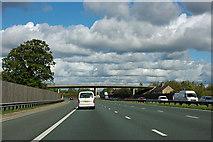 SE4153 : A1(M) - A168 bridge, Walshford by Robin Webster