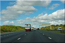 SE4057 : A1(M) north of junction 47 by Robin Webster