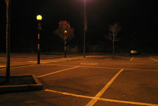 Car park at Tesco Oakham