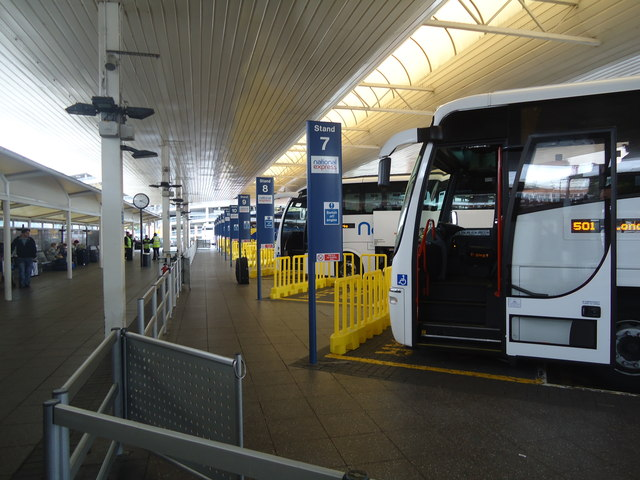 Coach station, Heathrow Airport
