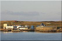 HU4743 : Heogan Fish Factory, Bressay by Mike Pennington