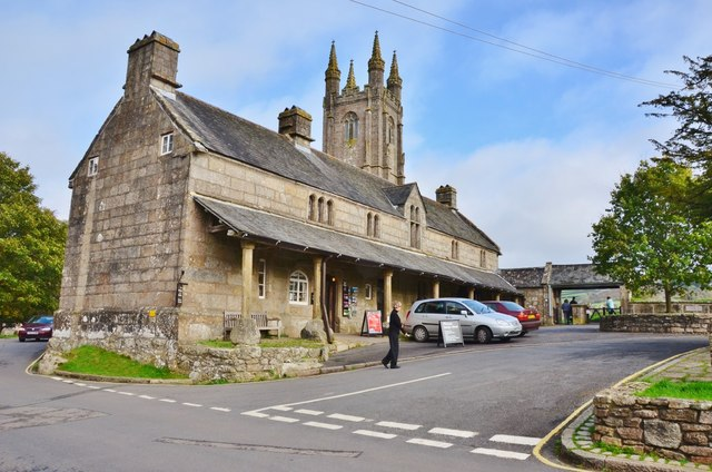 Widecombe in the Moor: The Old Church House