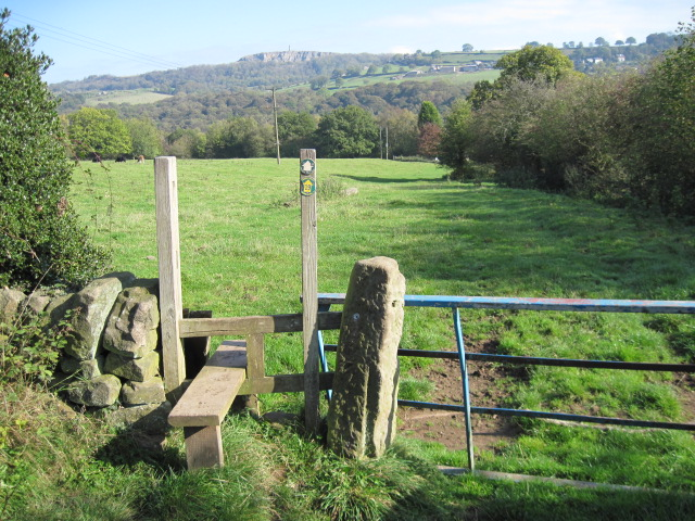 Footpath towards Whatstandwell