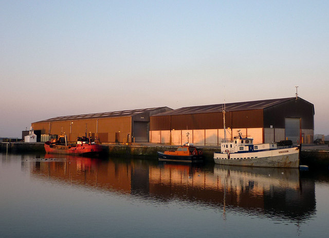 Evening reflections at Glasson Dock