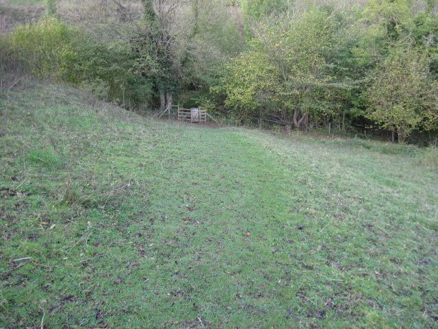 Footpath towards Slinter Wood