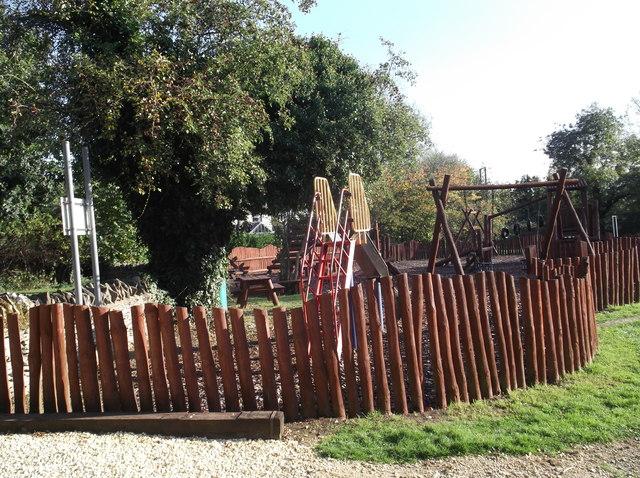 Children's playground in Alvescot