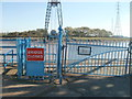 ST3186 : Newport Transporter Bridge closed at weekends by Jaggery