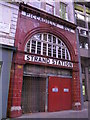 TQ3080 : Entrance to the (former) Aldwych tube station, The Strand, WC2 by Mike Quinn