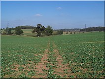 SK1501 : Footpath To Hints by Geoff Pick