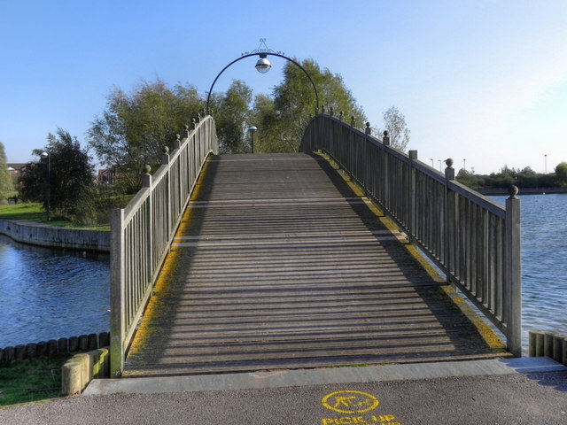 Footbridge, Doncaster Lakeside