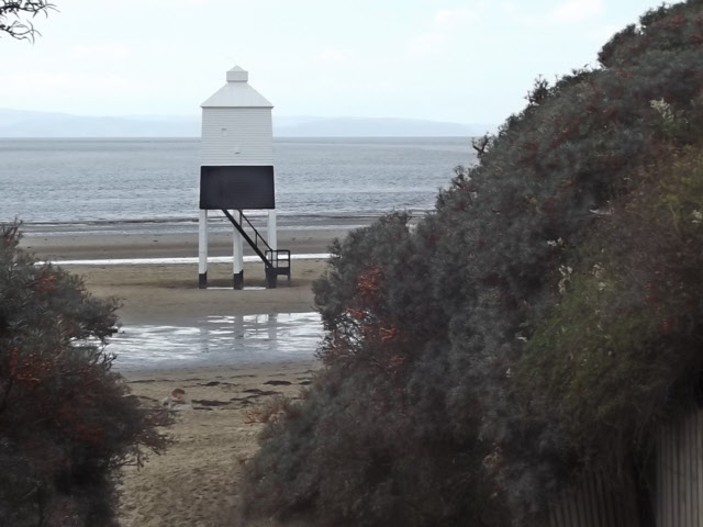 Wooden lighthouse, Burnham on Sea