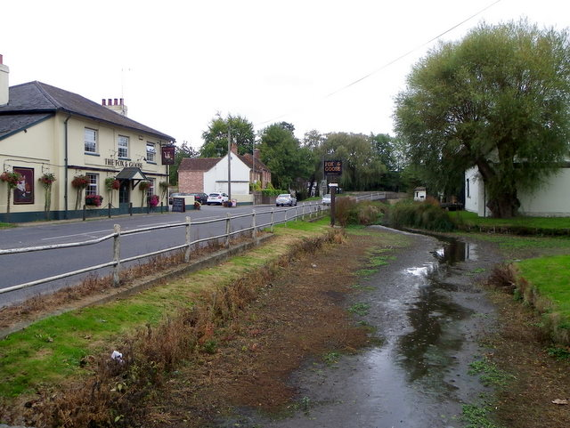 River Ebble and A354, Coombe Bissett (2/4)