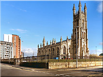 SJ8297 : The Church of St George, Hulme by David Dixon