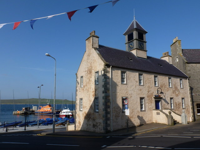 Lerwick: the Old Tolbooth