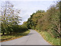 TM3272 : Heveningham Road. Ubbeston by Geographer