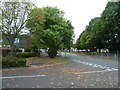 SU6806 : Looking from Mercury Place into Crookhorn Lane by Basher Eyre