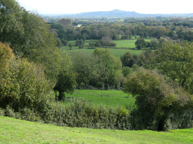 Fields below Mudgley