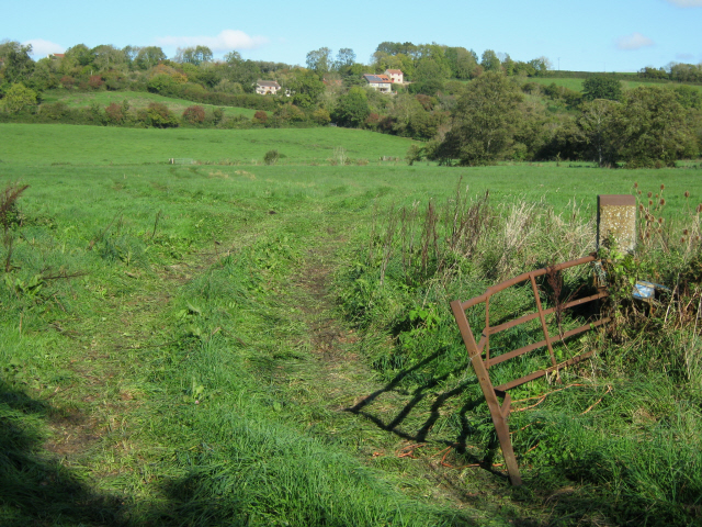 Field gate on North Chine Drove