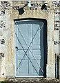 SU1332 : Church of St Lawrence- date stone by Jonathan Kington