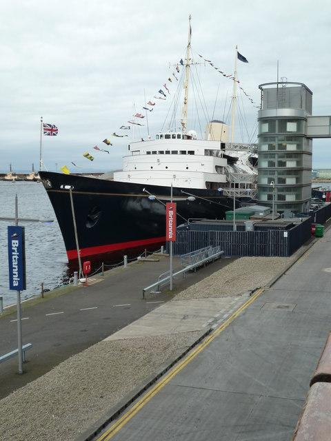 HMY Britannia, Leith