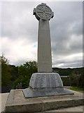 SH5571 : War memorial on Church Island, Menai Bridge by Meirion