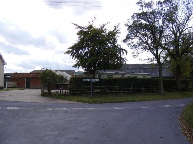 Cratfield Lane, Banyard's Green