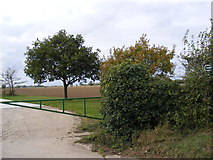 TM3074 : Footpath to Red House Farm & Cratfield Lane by Adrian Cable
