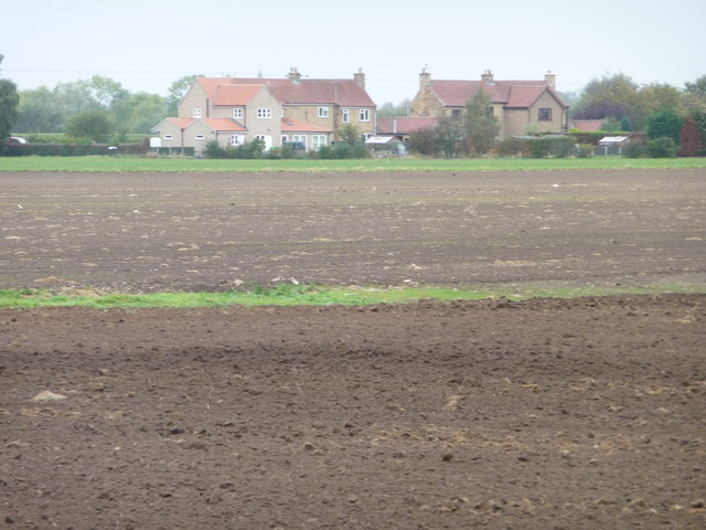 Bare earth fields west of Owston Road