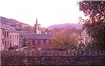 SE0125 : Autumn evening view in Mytholmroyd by David Clark