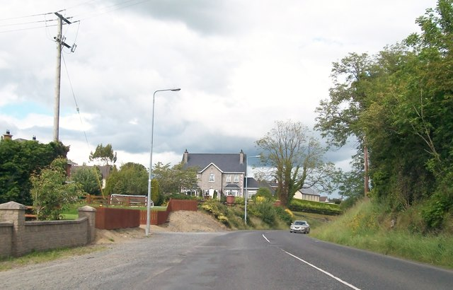 Modern detached houses in St Mary's Road, Kingscourt
