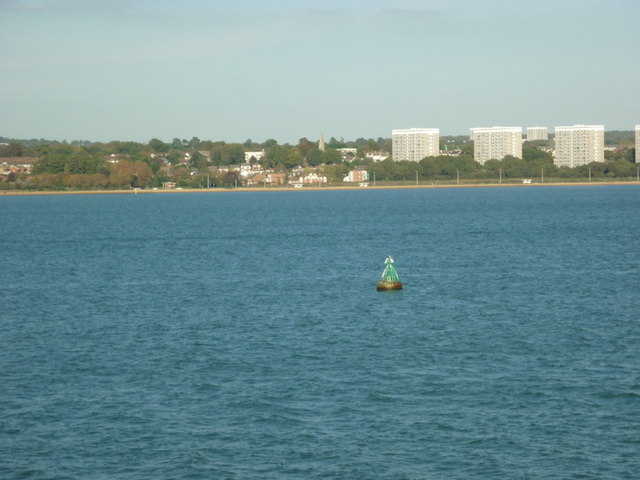 A buoy in Southampton Water